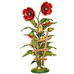 Blumeninsel Mohn  -  24cm