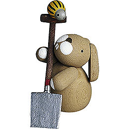 Bunny with Spade  -  2,7cm / 1.1 inch