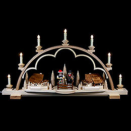Candle Arch  -  Black Forest  -  80cm / 31 inch