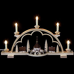Candle Arch  -  Carolers Village  -  57cm / 22 inch