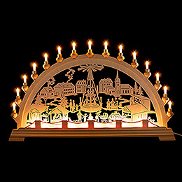 Candle Arch  -  Christmas Market  -  89x49cm / 35x19.3 inch