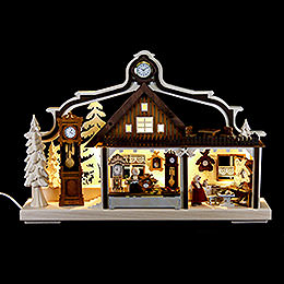 Candle Arch  -  Clock Maker Workshop  -  43x30cm / 17x11.8 inch