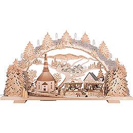 Candle Arch  -  Fair in Seiffen  -  72x43cm / 28.3x16.9 inch