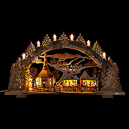 Candle Arch  -  Fair in Seiffen  -  72x43cm / 28.3x16.9 inch