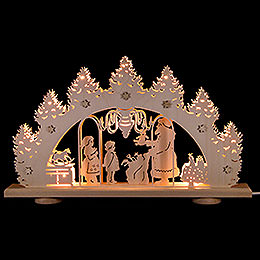 Candle Arch  -  Gift Giving  -  LED  -  52x32x6cm / 20.5x12.6x2.4 inch