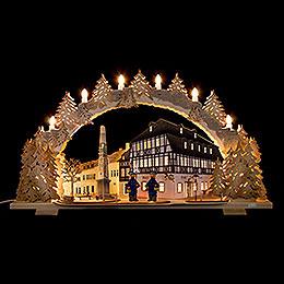 Candle Arch  -  Hotel zum Ross  -  72x43cm / 28.3x16.9 inch