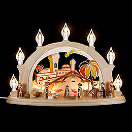 Candle Arch  -  Nativity  -  58x39cm / 23x15 inch