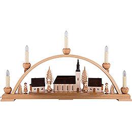 Candle Arch  -  Schneeberger Church  -  52x30x14cm / 20.4x11.8x5.5 inch