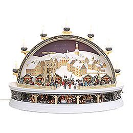 Candle Arch  -  Silver Schneeberg  -  Limited Edition  -  74x58x34cm / 29.1x22.8x13.4 inch