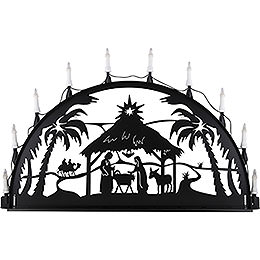 Candle Arch for Outside  -  Nativity  -  100 - 300cm / 40 - 120 inch