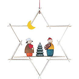 Christbaumschmuck Striezelkinder  -  9,5cm