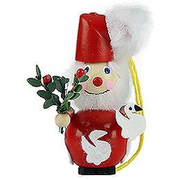 "Christbaumschmuck Weihnachtsmann  -  ""Seven Swans A - Swimming""  -  9cm"