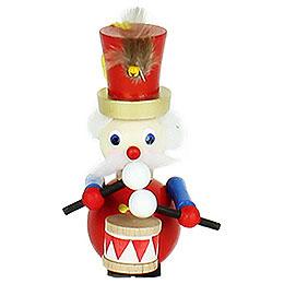 """Christbaumschmuck Weihnachtsmann  -  """"Twelve Drummers Drumming""""  -  9cm"""
