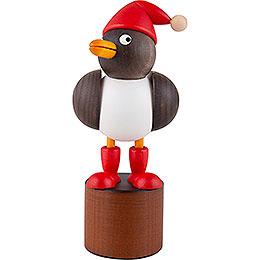 Christmas Seagull grey  -  12,5cm / 4.9 inch