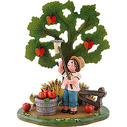 Country Idyll Apple Harvest  -  10x13cm / 3.9x5.1 inch