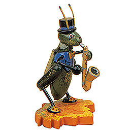 Cricket with Saxophone  -  8cm / 3 inch