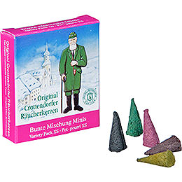 Crottendorfer Incense Cones Variety Pack  -  Miniature