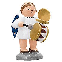Engel mit Trommel und Schellen  -  5cm