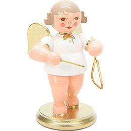 Engel weiß/gold mit Triangel  -  6,0cm