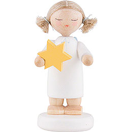 "Flax Haired Angel ""Star - Child Angel""  -  5cm / 2 inch"
