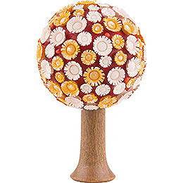 Flax Haired Children Blossom - Tree Yellow/White/Red  -  7,5cm / 3 inch