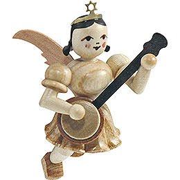 Floating Angel Banjo, Natural  -  6,6cm / 2.6 inch