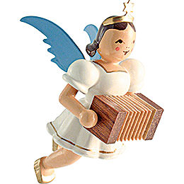 Floating Angel Colored, Harmonica  -  6,6cm / 2.6 inch