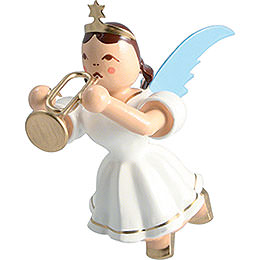 Floating Angel Colored, Trumpet  -  6,6cm / 2.6 inch