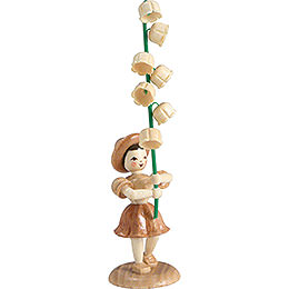 Flower Child Lily of the Valley, Natural  -  12cm / 4.7 inch