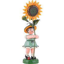 Flower Child with Sunflower  -  24cm / 9,5 inch