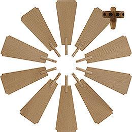 Flügelrad für Weihnachtspyramide  -  Durchmesser = 35cm