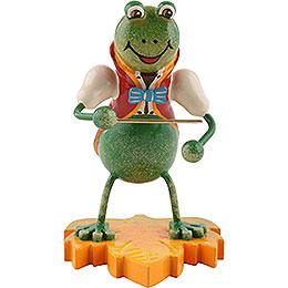 Frog Bandmaster  -  8cm / 3.1 inch