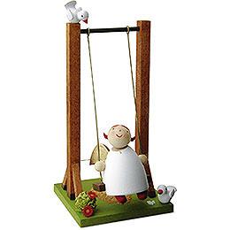 Guardian Angel on Swing  -  3,5cm / 1.3 inch