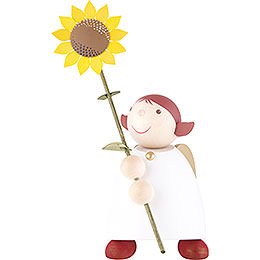 Guardian Angel with Sunflower  -  26cm / 10.3 inch