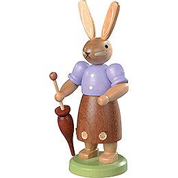 Hasenfrau farbig  -  11cm