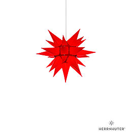 Herrnhuter Moravian Star I4 Red Paper  -  40cm / 15.7 inch