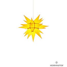 Herrnhuter Moravian Star I4 Yellow Paper  -  40cm / 15.7 inch