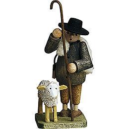 Hirte mit Schaf  -  7cm