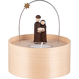 Holy Family  -  Tea Light Set  -  natural  -  11cm / 4.3 inch