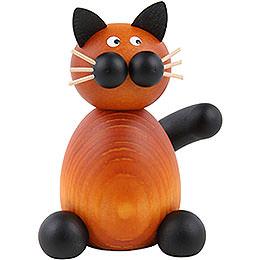 Katze Bommel sitzend  -  7cm