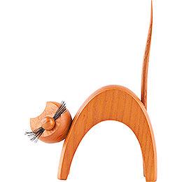 Katze ocker  -  stehend  -  13cm