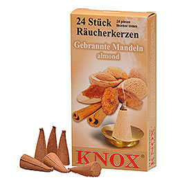 Knox Incense Cones  -  Almond