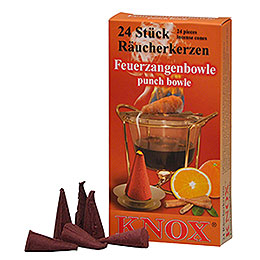 Knox Incense Cones  -  Brandy Punch Feuerzangenbowle