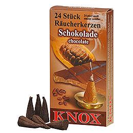 Knox Räucherkerzen  -  Schokolade