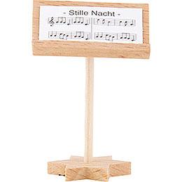 Kurzrockengel Dirigentenpult, natur  -  4cm