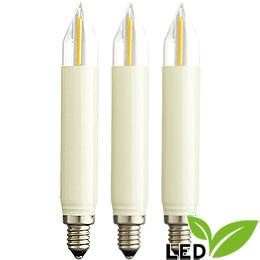 LED - Kleinschaftkerze Filament  -  Sockel E10  -  16V