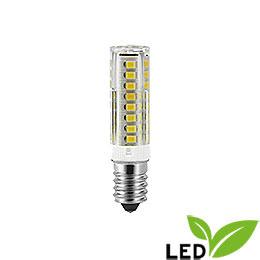 LED Radio Tube Lamp  -  E14 Socket  -  230V/7W