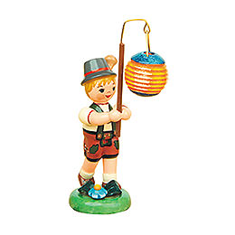 Lampion Child Boy with Ball Lantern  -  8cm / 3 inch