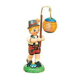 Lampionkind Junge mit Kugellampion  -  8cm