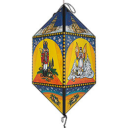 Lantern  -  Angel & Miner  -  40cm / 15.7 inch